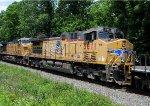 UP 5811 on oil train 64K